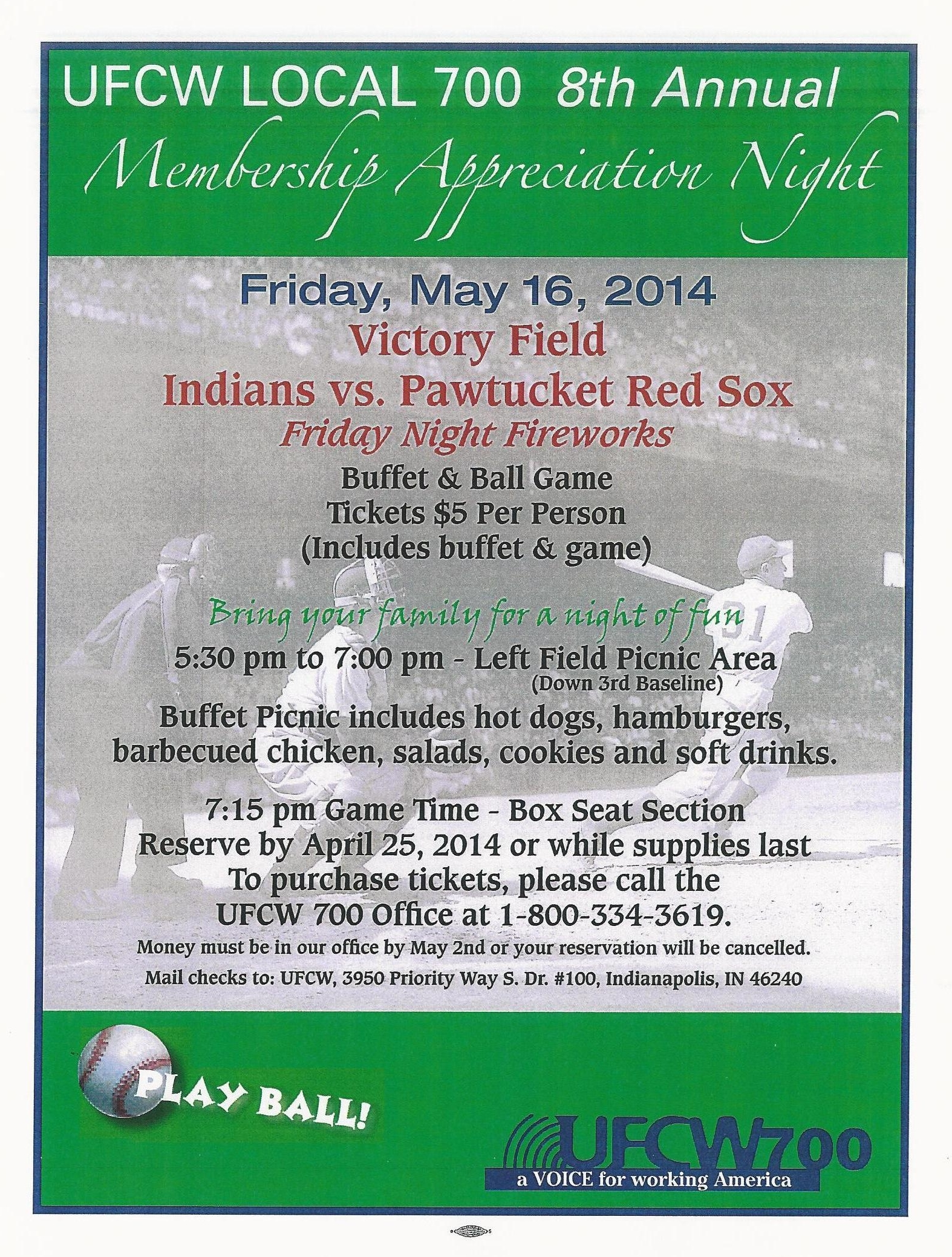 2014 baseball night