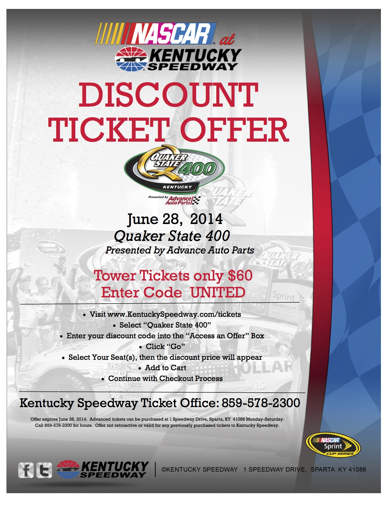 UNION  Discount Flyer