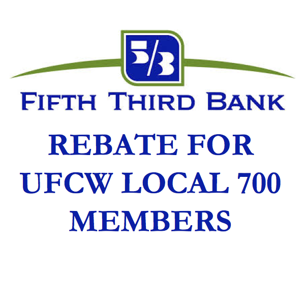 5/3 Rebate for Local 700 Members
