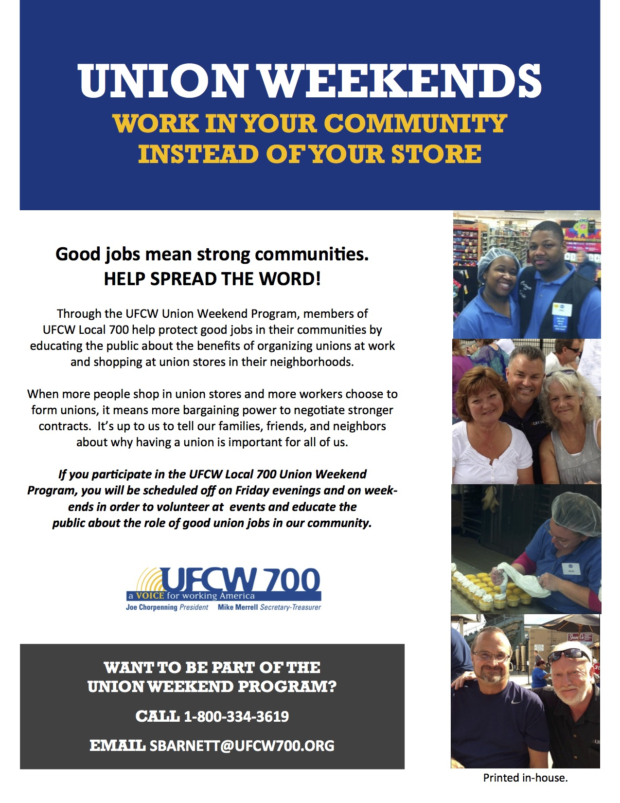 Uncategorized | UFCW Local 700