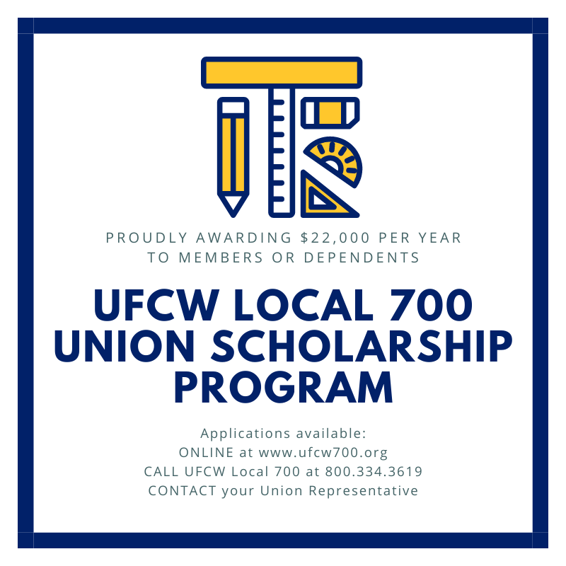 UFCW Union Scholarship Program Applications Now Available